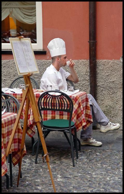 Taking a break Italian style: