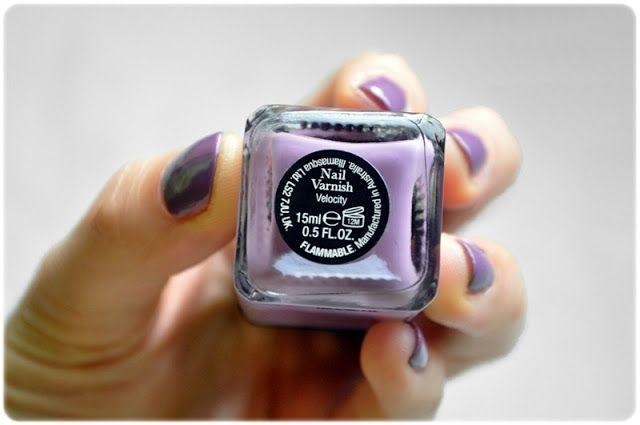 #manicure #mani #manioftheday #motd #nails #nailsoftheday #notd #paznokcie #naillacquer #nailpolish #lacquer #polish #nagellack #fiolet #violet #velocity #illamasqua @illamasqua