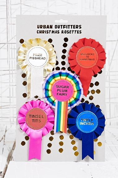 Christmas Rosettes at Urban Outfitters