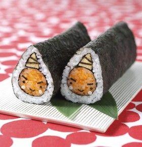 節分★恵方巻・鬼巻き寿司