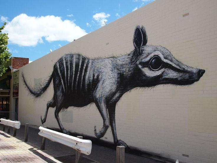 By ROA in Fremantle, Australia.