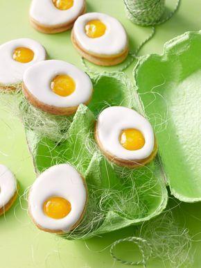 Zitronige Ostereier - Kekse