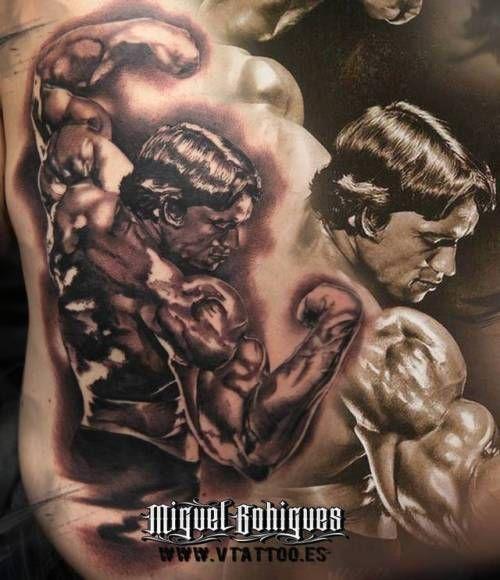Por Miguel Bohigues hecho en V Tattoo Aldaia.