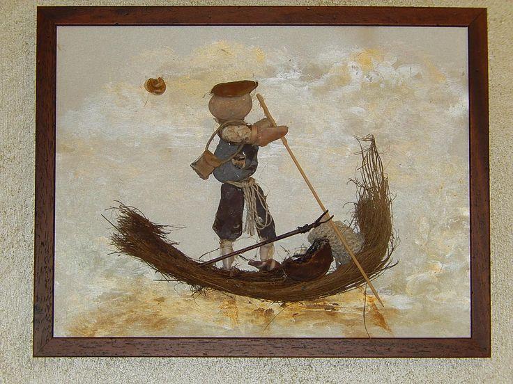 Pescatore nella Valle  di Comacchio!