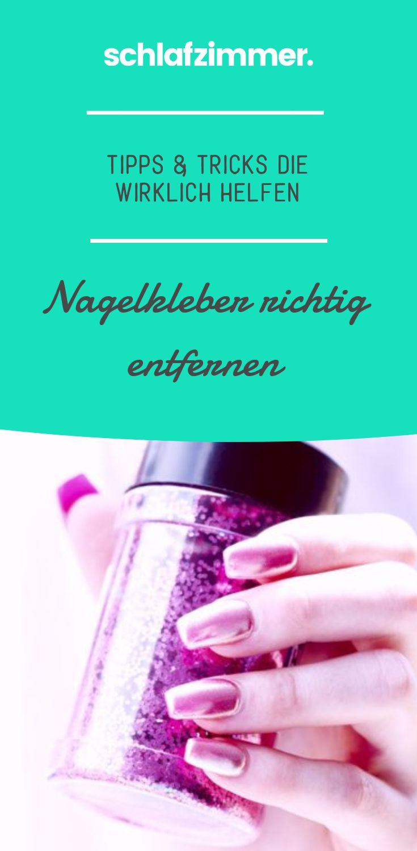 Nagelkleber entfernen: Tipps & Tricks die helfen