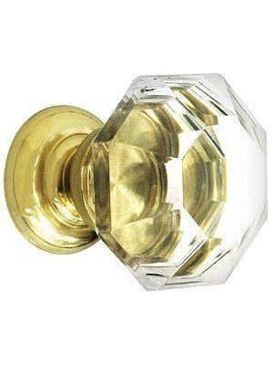 Crystal Cabinet Knob