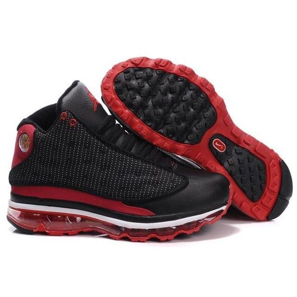 Women\u0027s Air Jordan 13 Black Red ($73) ? liked on Polyvore