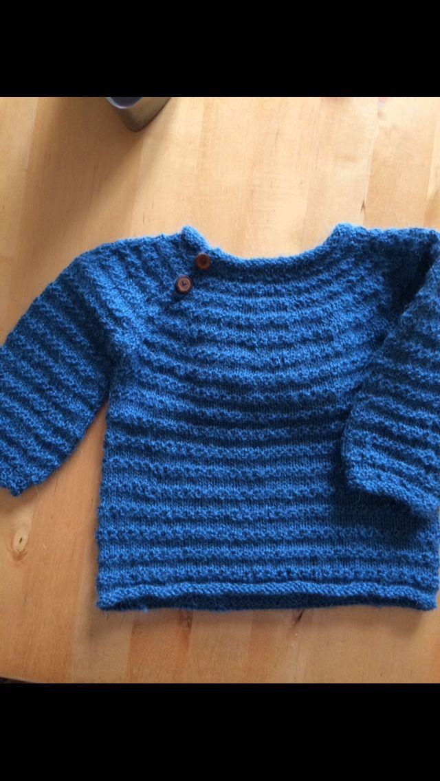 Alfreds bluse Alpaka fra Filcolana. Opskrift af Susie Hauman: babystrik 0-18 mdr. All you knit is love