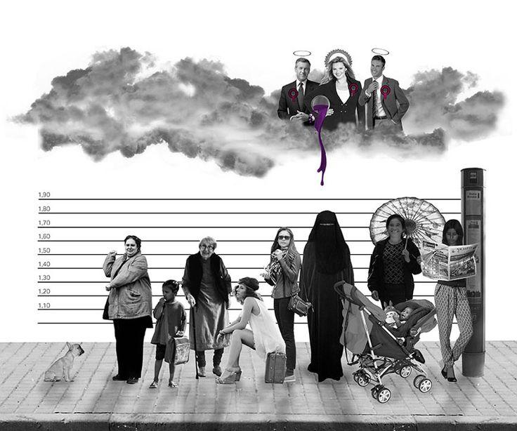 Burkas en el ojo ajeno: el feminismo como exclusión. Ilustración de Señora Milton