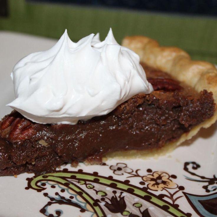 Pecan Fudge Pie