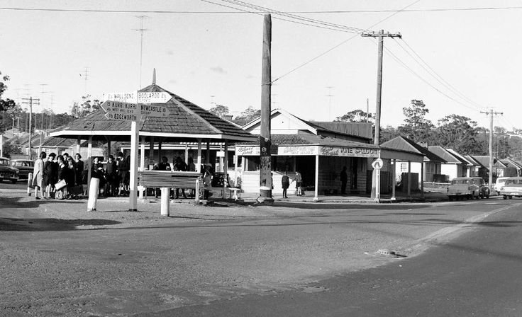The Crossroads Wine Bar exterior from 1965