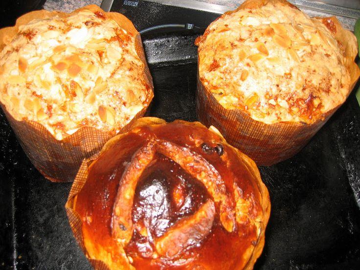 Pasteles de colores: Pan dulce o Panettone de Doña Petrona