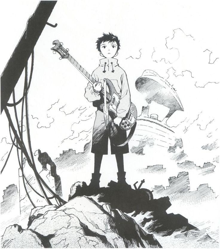 flcl | Furi Kuri - FLCL Artbook - Taringa!