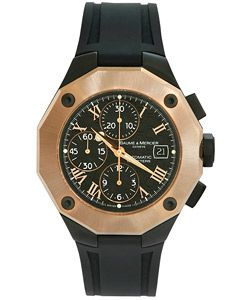 I WANT TO BUY THIS WATCH! CONTACT ME! WILL PAY CASH  Baume & Mercier Riviera Men's Rose Gold Watch