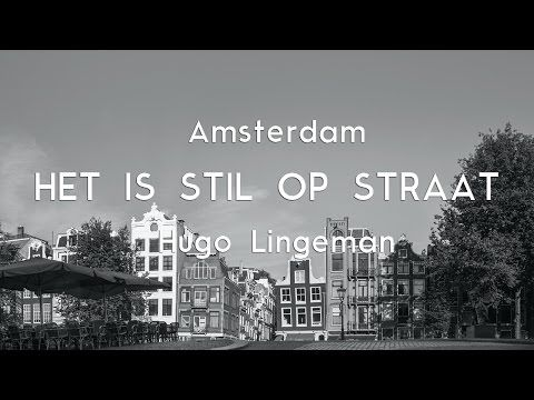 Fotograaf Hugo Lingeman - vrij werk en in opdracht. Publicatie november 2016: Fotoboek 'Het is stil op straat' met foto's van leeg Amsterdam