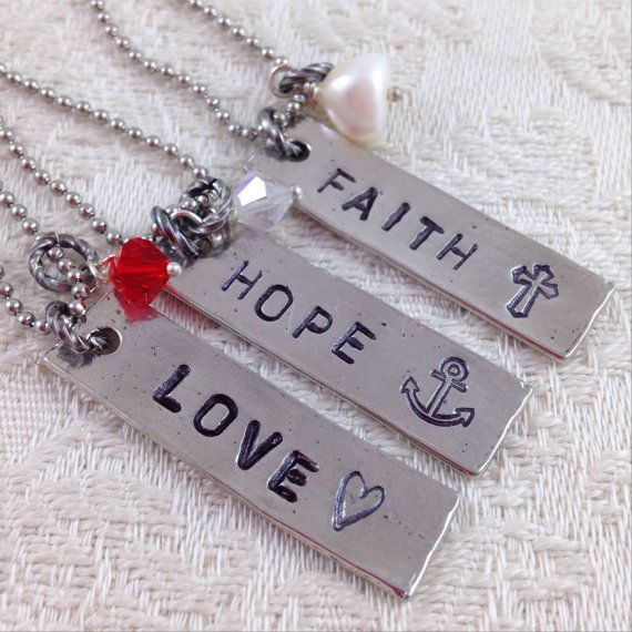 74 best faith hope charity images on pinterest anchor for Faith hope love jewelry