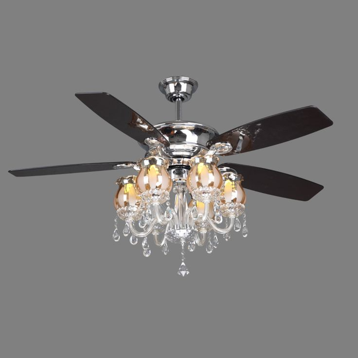 Black Chandelier Fan: 22 Best Images About Bling Ceiling Fans On Pinterest