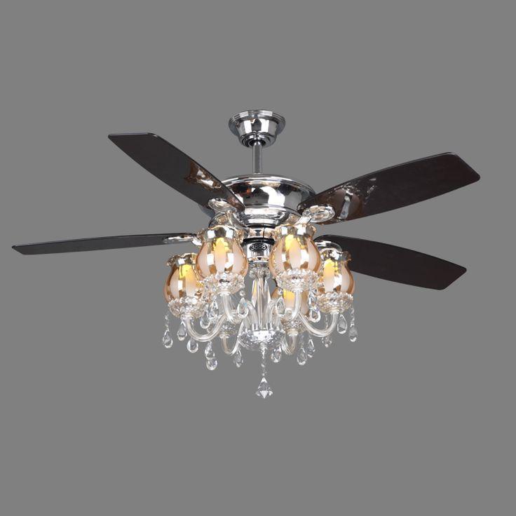 Crystal Ceiling Fan: 1000+ Ideas About Ceiling Fan Chandelier On Pinterest