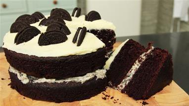How To Make A Chocolate Oreo Cake Recipe (Cakes)