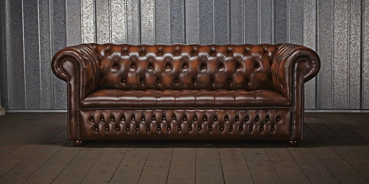 This Image Identifies The Chesterfield Sofa Which Was One The Of The Most Famous Pieces Of