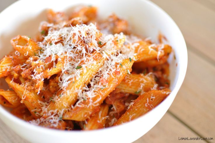 Sausage and Penne Pasta (in the Instant Pot)