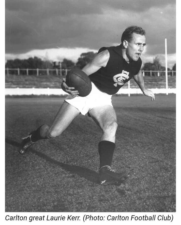 Laurie kerr , his grandson drafted for the 2017 season