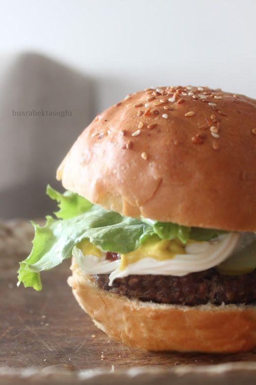 büşra bektaşoğlu: Hamburger Ekmekleri