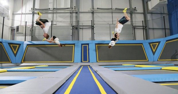 Beat the winter blues and release some pent-up energy at one of the many new indoor trampoline parks opening up around the country