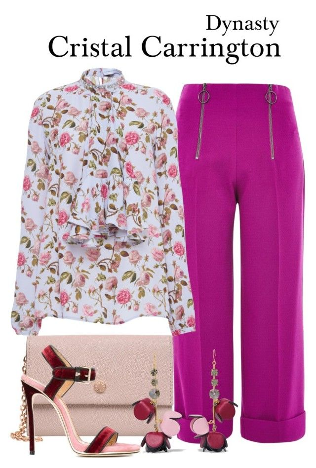 Dynasty by sparkle1277 on Polyvore featuring polyvore, fashion, style, Francesco Scognamiglio, Topshop, Dsquared2, Radley, Marni and clothing