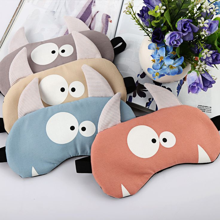 Funny Sleeping Aid Blindfold Cute Fox Ice Cover Eye Patch Fashion Travel Relax Breathe Sleeping Mask Beauty Mask For The Faceh