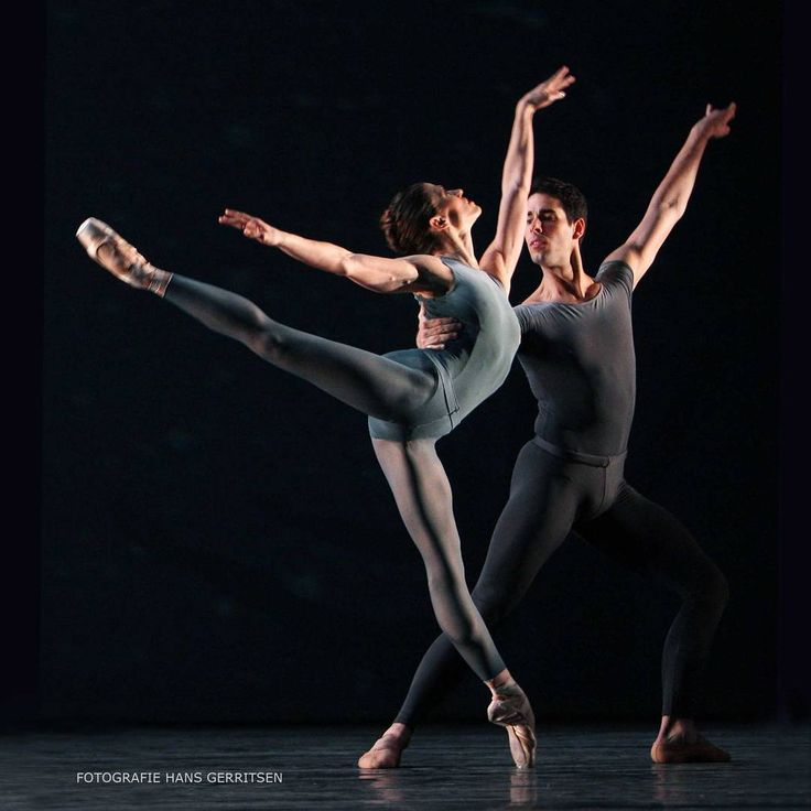 "Courtney Richardson and Ernesto Boada, ""After the Rain"" choreography by Christopher Wheeldon, The Royal Ballet of Flanders Koninklijk Ballet Vlaanderen"
