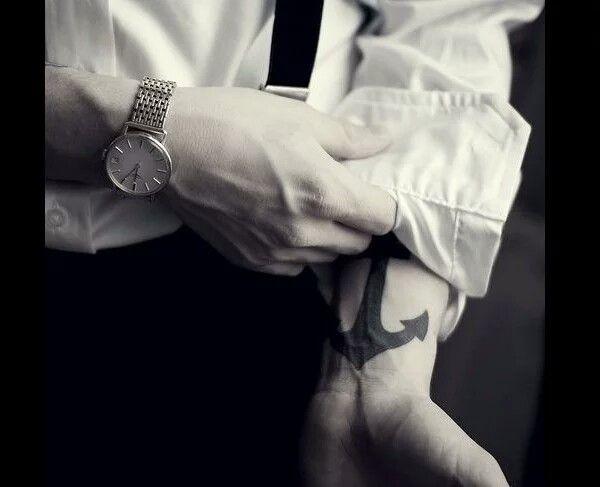 Anchor Tattoo, Mariner Tattoo, Seaman Tattoo