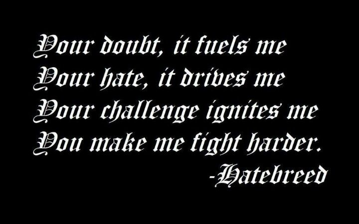 Hatebreed song lyrics