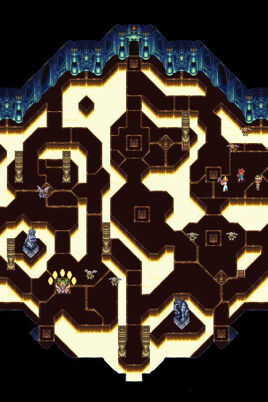 Ocean Palace - Chrono Trigger (SNES)