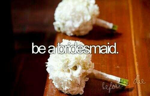 """""""Essere una damigella d'onore"""" #Love #Wedding #Bridesmaid #ToDoList"""