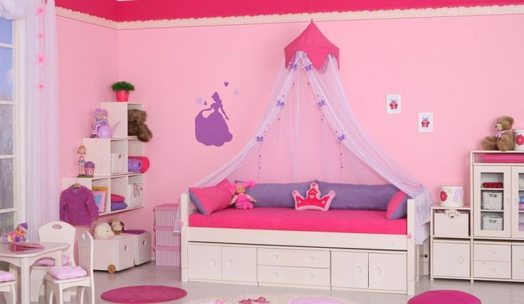 dětský pokoj pro děvčata