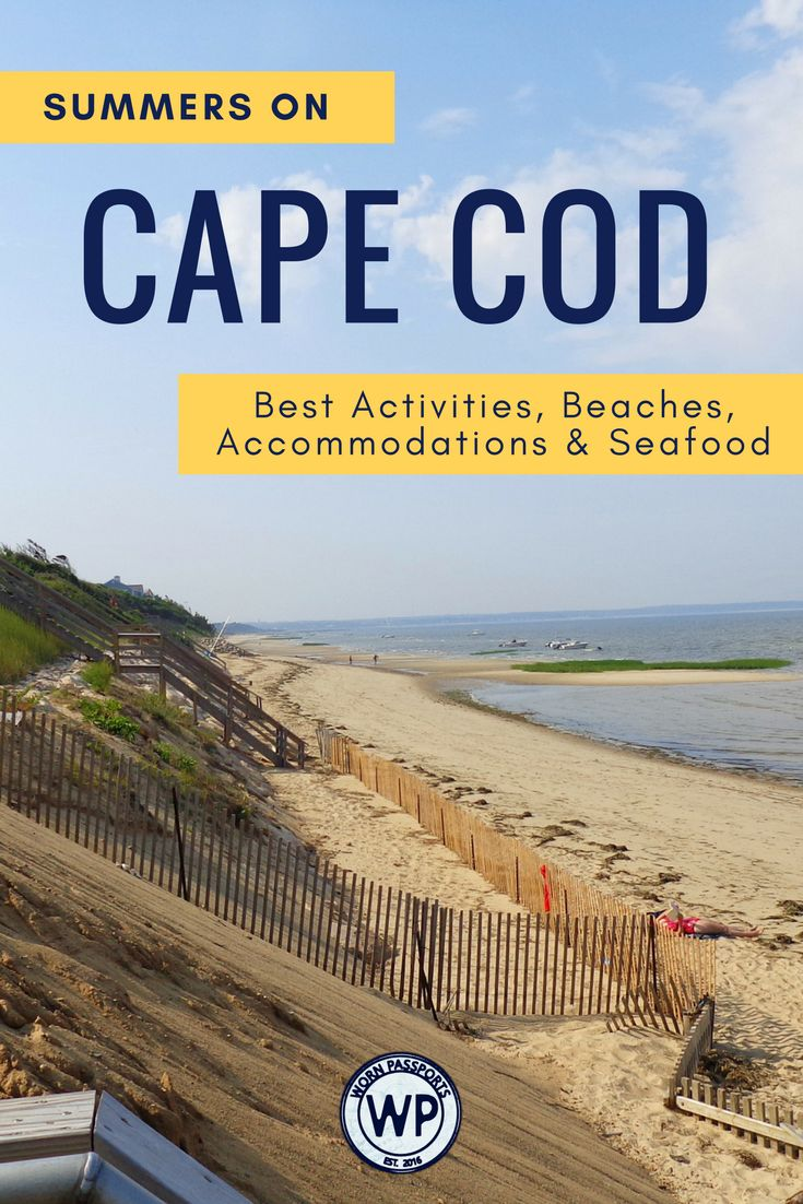 Travel guide to visit Cape Cod, Massachusetts, USA: Sample itinerary, advice, and recommendations from real travelers. Visit Provincetown, Plimoth Plantation, JFK Museum, Cape Cod Baseball League, Cape Cod Brewery, Cape Cod Potato Chip Factory, & the best beaches. Learn about the best seafood restaurants and the best family accommodations in Chatham. | wornpassports.com