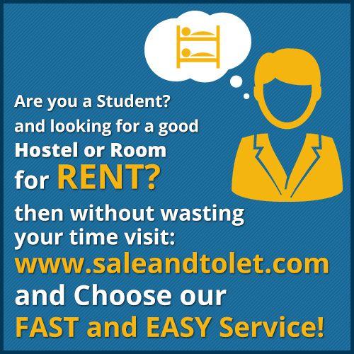 http://saleandtolet.com/ Looking For a Good Hostel, PG, Room For Rent? Than without wasting Your Time visit saleandtolet.com