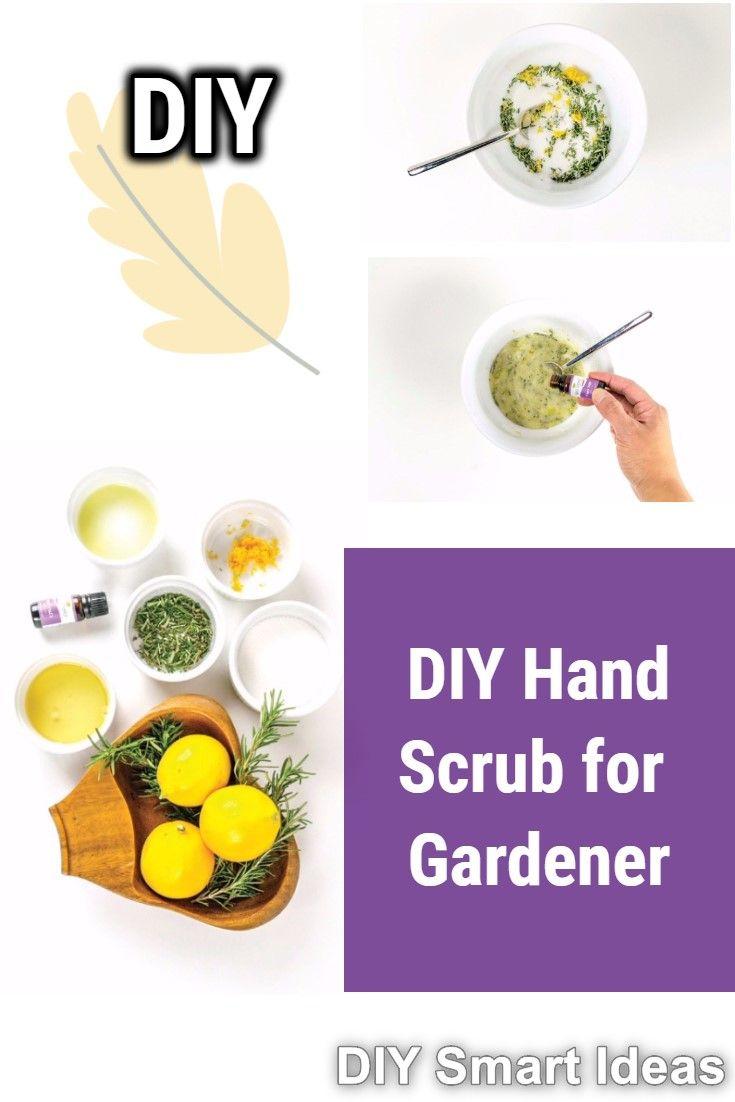 Sugar Hand Scrub For Gardener Natural Skin Care Ingredients