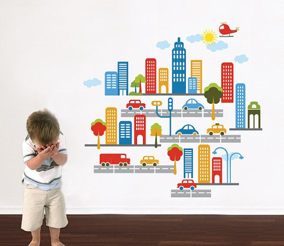 Playroom Wall Decal  Play Room Wall Decal  by DecalSisters on Etsy, $130.00