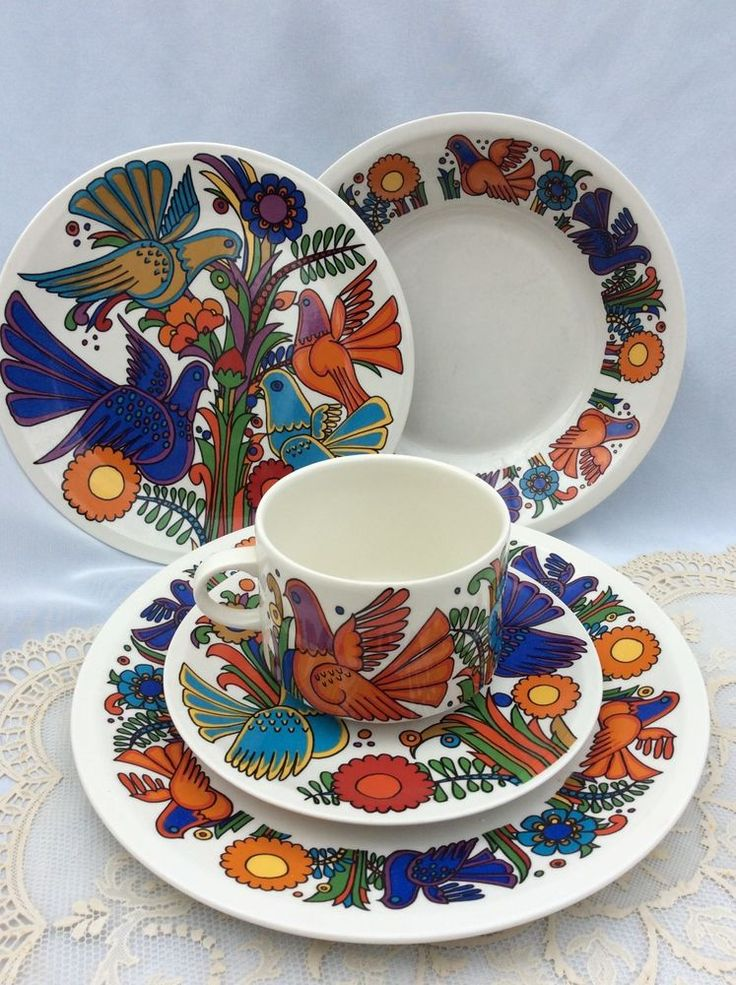 Villeroy and boch acapulco 5 pieces set collectible acapulco dinnerware and china china - Villeroy and bosh ...
