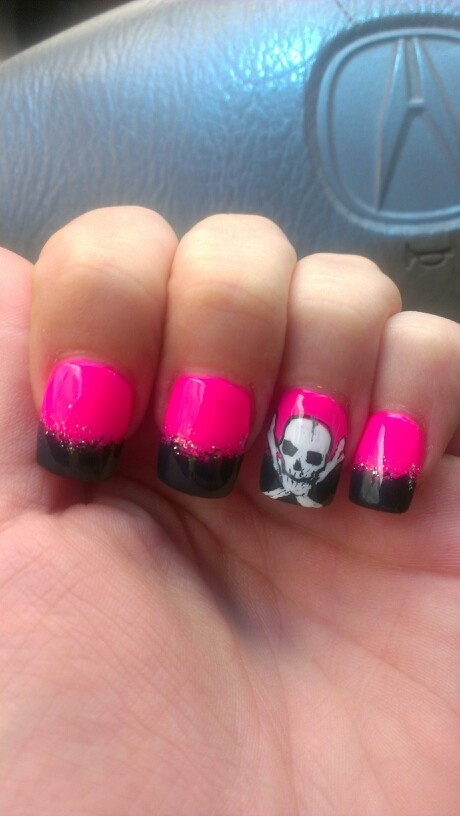 17 Best Images About Pirate Themed Nails On Pinterest