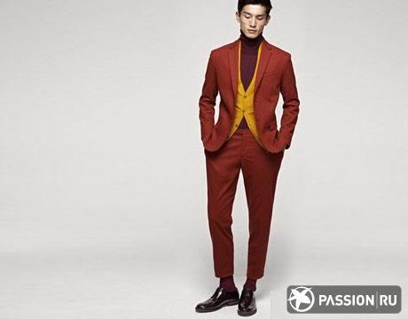 Мужской спортивный костюм яркого цвета