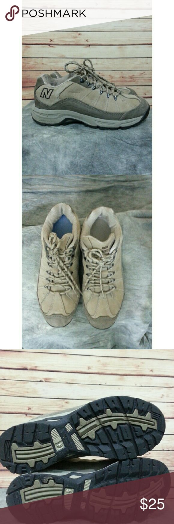 New Balance waterproof  hiking walking shoes 9 D New Balance 966. Insoles are different colors but both are New Balance insoles. Soles show very little wear. New Balance Shoes Athletic Shoes
