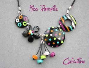 Montage + pampilles+ couleurs.... Top !