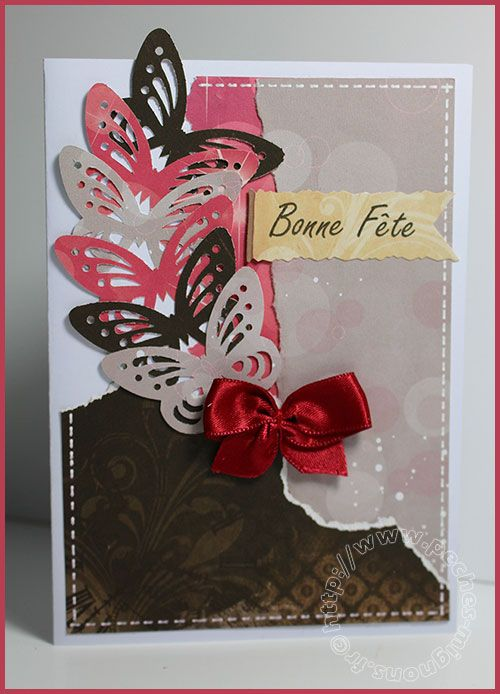 Carte Scrap 166 Bonne F Te F Te Grand M Re F Te Des Mamans Papas Etc Pinterest Scrap