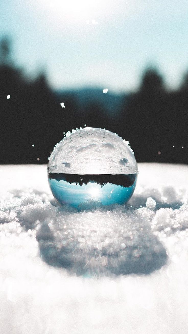 Hd wallpaper j7 prime - Art Nature Wallpaper For Samsung Galaxy J7 Prime Background With Ball On Snow
