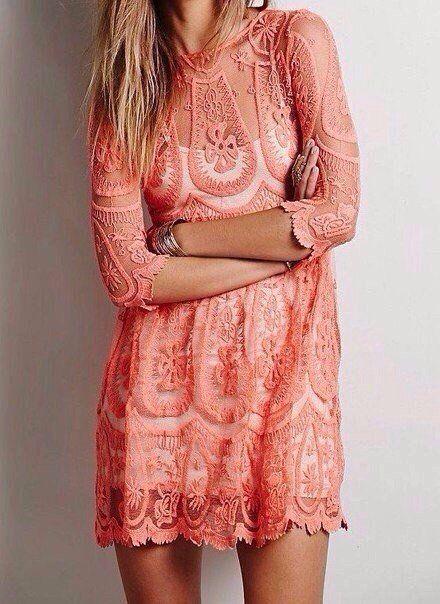 Восхитительные кружевные платья.
