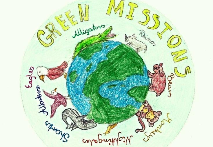 Przykład projektu realizowanego w ramach programu eTwinning: Green Missions, Szkoła Podstawowa