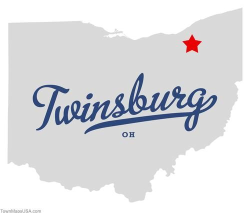pictures of twinsburg ohio | Map of Twinsburg Ohio OH